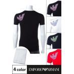2016年秋冬新作 アルマーニ エンポリオアルマーニ Emporio Armani Tシャツアンダーウェア Tシャツ 半袖 Vネック メンズ 110810 6A725