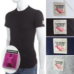 ショッピングディースクエアード ディースクエアード DSQUARED2 Tシャツアンダーウェア Tシャツ 半袖 丸首 メンズ DCM370010