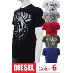 ディーゼル DIESEL Tシャツ 半袖 丸首 メンズ 00SC4U
