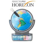ショッピングしゃべる地球儀 ドウシシャ しゃべる地球儀 パーフェクトグローブ HORIZON ホライズン PG-HR14【単4アルカリ電池10本サービス】