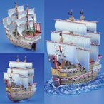 ワンピース 偉大なる船コレクション レッド・フォース号 プラモデル バンダイ(A2140)