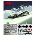 1/72 独 ハインケルHe70F-2高速連絡機 プラモデル ICM IC72232(C4483)