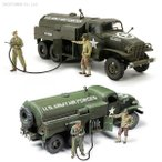 タミヤ 32579 1/48 MM アメリカ 2 1/2トン 6×6 フューエルトラック プラモデル(D9239)