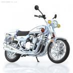 アオシマ 1/12 完成品バイク Kawasaki 750RS-P(Z2白バイ) 完成品(F3989)