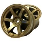 SPICE スパイス 58091 グラムライツ 57D ロゴ蒸着 ホイール ゴールド(オフセット8mm)(2輪入り) (RC4565)