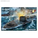 ミクロミル 1/144 USS モニター プラモデル MKR 144-028 【5月予約】