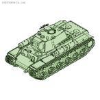 トランペッター 1/35 KV-1重戦車 簡易生産型/戦車兵セット プラモデル 09597 【10月予約】