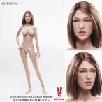 ベリークール 1/6 女性素体 Ver.3.0 ブラウンヘアヘッド付 FX03-B(ZD06189)