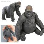 ゴリラ ニシローランドゴリラ Gorilla gorilla ソフビトイボックス001 海洋堂(ZF16953)