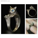ダークソウル × TORCH TORCH リングコレクション 銀猫の指輪 (レディース) 9号 TORCH TORCH(ZG28491)