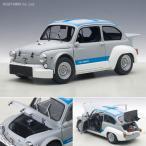 オートアート 1/18 フィアット アバルト 1000 TCR (グレー / ブルー・ストライプ) ミニカー 72642(ZM06280)
