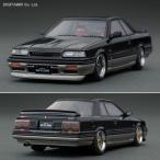 イグニッションモデル 1/43 ニッサン スカイライン GTS-R (R31) ブラック/ガンメタリック SSRホイール ミニカー IG0981(ZM17937)