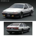 イグニッションモデル 1/43 トヨタ スプリンター トレノ 3Dr GT Apex (AE86) ホワイト/ブラック ミニカー IG0484(ZM26632)