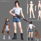 1/24 SHOTGUN & BOXER 女の娘と犬 ガレージキット アトリエイット(ZP28321)