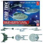 1/2500 スタートレック 映画スタートレックI&II 宇宙艦3隻セット プラモデル AMT 762(ZP35787)