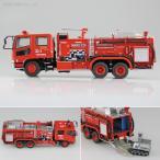 アオシマ 1/72 化学消防ポンプ車(大阪消防局C6) プラモデル ワーキングビークル No.1(ZS09593)