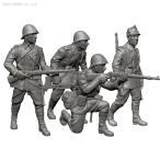 ズベズダ 1/72 ルーマニア兵 フィギュアセット プラモデル ZV6163(ZS13063)