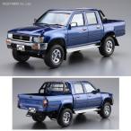 アオシマ 1/24 トヨタ LN107 ハイラックスピックアップ ダブルキャブ4WD '94 プラモデル ザ・モデルカー No.20(ZS17511)