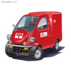 フジミ 1/24 ダイハツ ミゼットII 郵便自動車 プラモデル インチアップシリーズ No.251(ZS20803)
