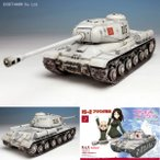 1/35 IS-2 プラウダ高校 プラモデル ガールズ&パンツァー プラッツ GP-19(ZS25537)