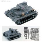 ガールズ&パンツァー IV号戦車D型エンディングVer. 半塗装済みプラモデル ピットロード/ぺあどっと PD68(ZS34508)