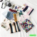 スカーフ レディース用 バッグスカーフ 正方形 ハンドルスカーフ 柄スカーフ 花柄 巻物 オシャレ 送料無料