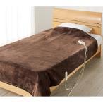 電気毛布、ひざ掛け 新らく寝ぼうシリーズ 電磁波カット電気毛布(掛け&敷き兼用)  620303