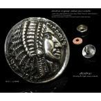 コンチョ インディアンフェイス ネイティブアメリカン シルバー925 メンズ ネジ 財布 ボタン