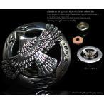 コンチョ イーグル フェザー ホイール ネイティブアメリカン 十字架 シルバー925 メンズ 財布 ボタン