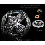 コンチョ イーグル フェザー 羽根  ホイール ネイティブアメリカン 十字架 シルバー925 メンズ 財布 ボタン