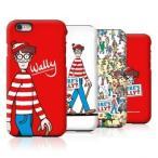【ウォーリー ケース】iPhone アイフォン 5 5S SE iPhone6 6S 7 / Plus ケース Galaxy ギャラクシー S6 SC-05G / S7 Edge SC-02H SCV33 カバー Where's Wally??
