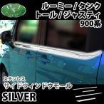 トヨタ ルーミー  タンク M900A M910A ダイハツ トール スバル ジャスティ ステンレスドアモール アクセサリー ドレスアップパーツ カスタム エアロパーツ