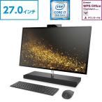 <27.0インチ>GTX 1050 Corei7 UHD 4K タッチスクリーン HP ENVY All-in-One 27(型番:3JU57AA-AADG)オールインワンパソコン WPS Office付 新品