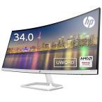 【ウルトラワイド】HP 34f 34インチ カーブドディスプレイ(型番:6JM50AA#ABJ) (3440x1440/10.7億色) 34インチ 超広角 IPS パネル搭載 新品