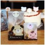 犬 かわいい ラッピング 袋 24枚セット シール付き クッキー お菓子 ギフトに プレゼントに