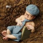 紳士 ハロウィンベビー用 赤ちゃん 衣装 仮装 コスチューム 変装グッズ 子供 出産祝い 新生児 お誕生日 撮影