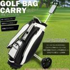 ゴルフ バッグ キャリー カート 折りたたみ式 簡単収納 手引き 2輪 持ち運び 練習用 ゴルフクラブ GOLF キャリーバック収納 ショット