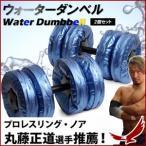 ウォーターダンベル 2個セット ダンベル 簡単 エクササイズ ダイエット フィットネス トレーニング器具 トレーニング ウエイト ベンチ セット プロレス