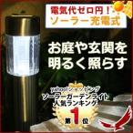 ソーラーポールライト SPL-61 LED ソーラーライト ガーデンライト ソーラー充電式 防雨 屋外 玄関先 庭 ライト 照明 シンプル おしゃれ ガーデンソーラーライト