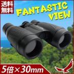 双眼鏡 5×30 5倍 30mm ファンタスティック・ビュー MCO-26 コンパクト 軽量 持ち運び スポーツ 観戦 アウトドア コンサート バードウォッチング ケース付き