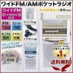 ラジオ 小型 ポケット スポーツ 防災用 競馬 中継 携帯 軽量 コンパクト イヤホン付き ワイドFM対応 AM FM 電池式 持ち運び 通販 1位