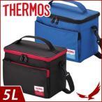 サーモス ソフトクーラー 5L REF-005 保冷 クーラーバック アイソテック 保冷バック スポーツ アウトドア クーラーボックス メッシュポケット THERMOS