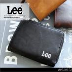 Lee 財布 コインケース 0520372 小銭入れ サイフ ファスナー付 L字型ファスナー ボンデットレザー 2層 カード入れ さいふ メンズ レディース おしゃれ