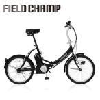 電動アシスト自転車 ノーパンク 折畳み フィールドチャンプ 20インチ バッテリー