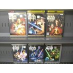 (A)STAR WARS スター・ウォーズ エピソード1〜6 (全6枚)(全巻セットDVD)|中古DVD