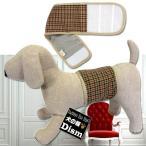 犬服 マナーベルト タータンチェック・ブラウン(超小型犬〜中型犬用)メール便なら送料無料 マナーバンド