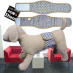犬服 マナーベルト サークルチェーン模様 吸収体装着部分幅広タイプ(超小型犬から中型犬用)メール便なら送料無料 マナーバンド ドッグウェア