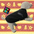 犬服 フリースジャンパー ブラック(小型犬、中型犬用)犬の服2点購入でメール便送料無料 防寒着 ドッグウェア チワワ トイプードル ミニチュアダックス 柴犬等