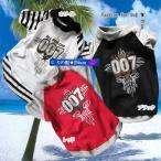 犬服 十字架柄Tシャツ All For One 007(中型犬)犬の服2点購入でメール便送料無料