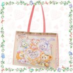 ショッピングバッグ ダッフィー&フレンズのハートウォーミング・デイズ 2020 東京ディズニーシー限定 シーズン イベント バレンタイン ホワイトデー エコバッグ